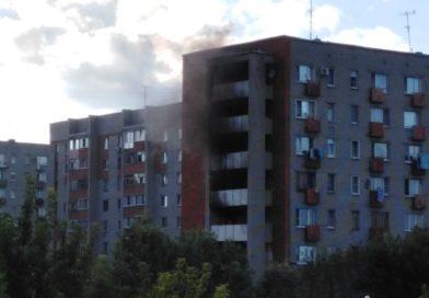 В Пензе в жилом доме на улице Минской произошел пожар