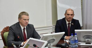 Тандем – дело должное. Мутовкин и Лузгин демонстрируют сплочённость городской власти