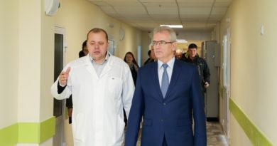 В Пензе завершается 1-ый этап реконструкции областной детской больницы