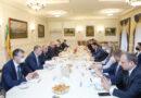 Мельниченко провел встречу с представителями Бельгийско-Люксембургской ТП