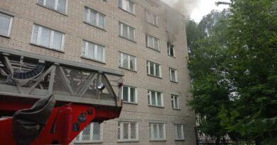 Известны подробности пожара в общежитии на ул. Беляева в Пензе