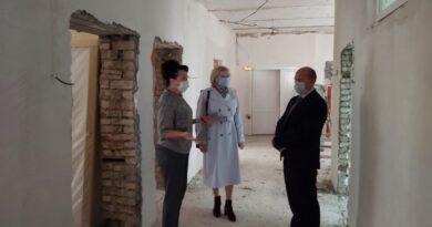 В Башмаковской РБ идет ремонт педиатрического отделения