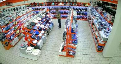 Пензенец украл робота-мойщика из магазина электроники